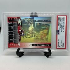 1993 Upper Deck #TD2 Michael Jordan Triple Double PSA 8 Hologram
