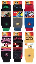 Heat Holders - Mens Ladies Kids Thick Non Slip Character Slipper Socks with Grip