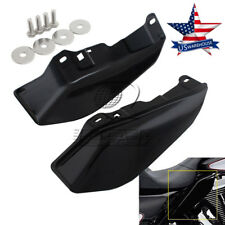 US Black Mid-Frame Air Deflector For Harley Touring Electra Street Glide 2009 up