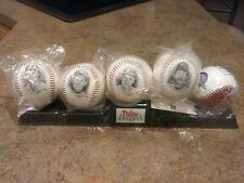 1995 Philadelphia Phillies Legends Burger King Baseball Set of 5 Balls & Stand
