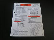 FICHE TECHNIQUE AUTOMOBILE RTA ROVER 825 SD (recueil 11)