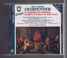 CHARPENTIER CD NEW THE JUDGMENT OF SOLOMON / PAUL COLLEAUX/ ELISABETH BAUDRY