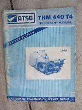 1989 ATSG THM 440-T4 General Motors Automatic Transmission Techtran Manual Car R