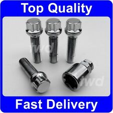 EXTRA LONG 45MM WHEEL LOCKING BOLTS FOR PORSCHE BOXSTER CAYMAN WITH SPACERS [BD]
