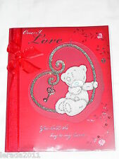VALENTINE CARD TO THE ONE I LOVE GENERAL ME TO YOU TATTY TEDDY LARGE LUXURY