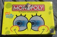 Parker Hasbro Spongebob Squarepants Monopoly Board Game Nickelodeon Edition Used