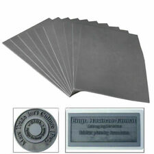 Gray Laser Rubber Sheet Printing Engraving Sealer Stamp A4 297 x 211 x 2.3mm