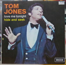 TOM JONES LOVE ME TONIGHT FRENCH SP DECCA 1969