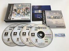 Final Fantasy IX 9 - Sony PlayStation PS1 - NTSC USA - Avec Notice
