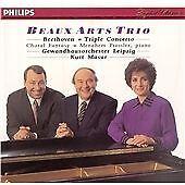 Beethoven Triple Concerto Choral Fantasy Beaux Arts Trio Gewandhaus Masur