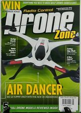 Radio Control Drone Zone Aug Sept 2016 Air Dancer Models Review FREE SHIPPING sb