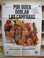 A3133 Por quién doblan las campanas Gary Cooper, Ingrid Bergman, Akim Tamiroff,