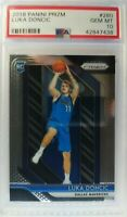 2018-19 Panini Prizm Luka Doncic Rookie RC #280, Graded PSA 10 Gem Mint, Mavs
