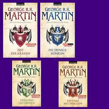 George R. R. Martin - Das Lied von Eis und Feuer 7 + 8 + 9 +10 - Game of thrones