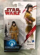 "New Star Wars **RESISTANCE TECH ROSE** Force Link Sealed 3.75"" Figure!!!"
