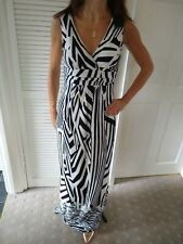 Black And White Maxi Dress Debut Size 8