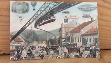 Autos Fluggeräte  1912. Weinrestaurant Zur Venus, Üdvözlet Nemetbogsanbo Ungarn
