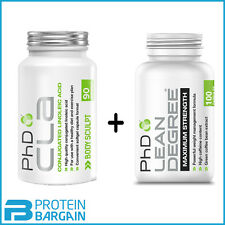 PHD Lean Degree Max Strength 100 Caps + Cla 90 Caps WEIGHT LOSS BEST PRICE