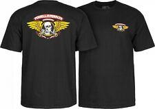 Powell Peralta Winged Ripper Skateboard T Shirt Black Xxl