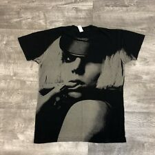 Lady Gaga Fame Monster Black Short Sleeve Graphic Tee Tour Pop - Small