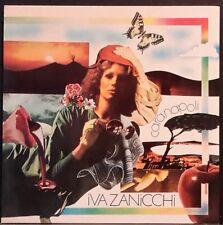 IVA ZANICCHI - CARA NAPOLI AUTOGRAPHED BY IVA EX++/NM COND RARE ITALIAN POP/ROCK