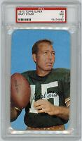 1970 PACKERS Bart Starr Topps Super Card #3 PSA 7 NEAR MINT 3x5 Green Bay HOFer