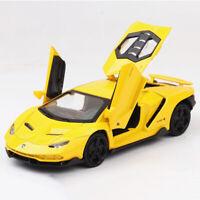 1:32 Lamborghini Centenario LP770-4 Model Car Diecast Toy Vehicle Yellow Kid New