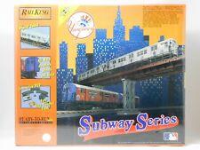 O 3-RAIL MTH 30-4122-1 New York Yankees Baseball Subway COMPLETE TRAIN SET