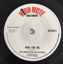 Max Romeo With The Gaytones Pray For Me Original High Note 1972 Great Copy !!
