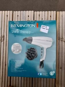Remington Shine Therapy Hair Dryer with Power Dry and Cool Shot for a Frizz Free
