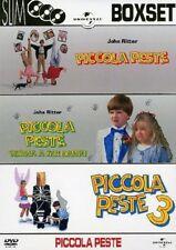 PICCOLA PESTE 3 FILM - DVD 1990-91-95 ITALIANO torna a far danni  si innamora