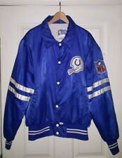Vintage Baltimore Indianapolis Colts Shain of Canada NFL Satin Jacket Size XL