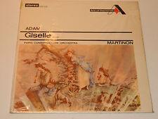 LP ADAM Giselle MARTINON ballet conservatoire Paris DECCA SDD-125 valse BÜSSER