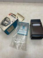 Vintage GAF Pana-Vue 2 AUTOMATIC Lighted Slide Viewer & Original Box 2x2 slides