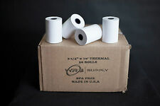 """(50 Rolls) First Data Fd400 Thermal Paper (2 1/4"""" x 70"""")"""