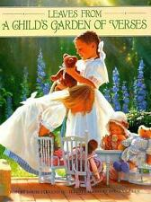 Leaves from a Child's Garden of Verses by Robert Louis Stevenson (1992, Hardcove