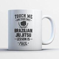 Brazilian Jiu Jitsu Mug - First Brazilian Jiu Jitsu Lesson Is Free