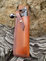 Rifle Bolt Pouch Holster Holder Belt Mounted Shooting hunting TAN .22/17hmr