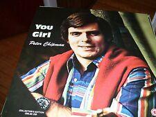 PETER CHIPMAN-YOU GIRL-LP-NM-CAPCAN MUSIC WITH CFAX RADIO-BRITISH COLUMBIA