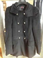 "Ladies JACKET/COAT FROM  ""YUMI ""  black Size small vgc"