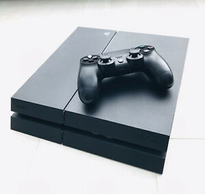 Sony Playstation 4 - Black 500GB with Accessories (Model CUH-1215A)