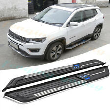 fits for JEEP compass 2017 2018 2019 nerf bar side step Running board 2pcs