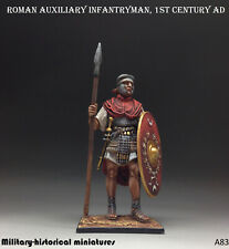Roman auxiliary Tin toy soldier 54 mm figurine metal sculpture HAND PAINTED
