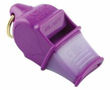 Tide Rider Fox 40 Sonic Blast CMG Whistle With Lanyard Referee Coach Dog, Purple