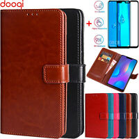 For Huawei Y9 2019 / Mate 20 Shockproof PU Leather Wallet Card Flip Stand Case