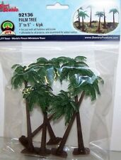 "JTT Scenery Palm Tree  3"" - 5"" Super Scenic, 6/pk 92136"