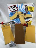 Tech Deck | Starter Kit Ramp Set and Signature Pro Skate Board