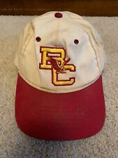 Vintage Boston College Eagles Snapback Hat Made In The USA NCAA MA Dirty