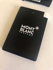 NEU MONTBLANC 2500mAh Slim Powerbank Backup Battery, Adapter Apple Samsung -1858