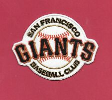 New San Francisco Giants 'Baseball Club 2 1/2 X 3  Iron on Patch Free Shipping